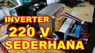 Rangkaian Inverter 220v Sederhana