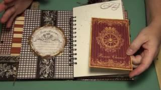 getlinkyoutube.com-Vintage Rooster Junk Journal (Sold)