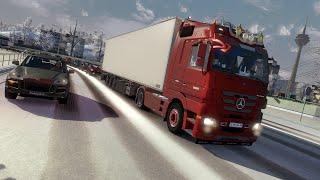 getlinkyoutube.com-Mercedes Actros Mod ETS2 (Euro Truck Simulator 2)