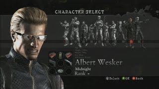 getlinkyoutube.com-Resident Evil 5 Melee Moves (HQ): Albert Wesker