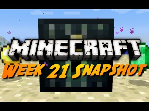 Minecraft Snapshots - 12w21a Pt. 1 - Villager Trading, Ender Chests, New Golden Apple &amp; More!