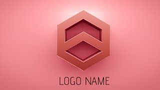 Photoshop Tutorial | How to make 3D Logo Design