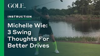 getlinkyoutube.com-Michelle Wie: 3 Swing Thoughts for Better Drives | GOLF.com