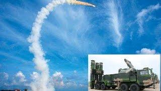 挑戰新聞軍事精華版--中國南海射「紅旗9」導彈,阻嚇美軍