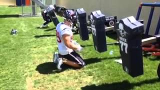 getlinkyoutube.com-Jj watt attacks blocking sled