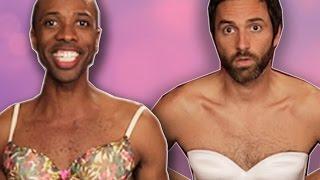 getlinkyoutube.com-Guys Wear Bras For A Week