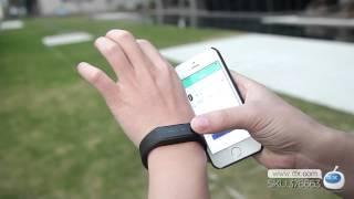 "getlinkyoutube.com-Vidonn X6 0.88"" IP65 Bluetooth V4.0 Smart Watch Wristband Bracelet -- DX.COM"