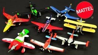 getlinkyoutube.com-8 Mattel Disney Planes Turbo Dusty El Chupacabra Ripslinger Lead Bottom Ishani Skipper Bulldog