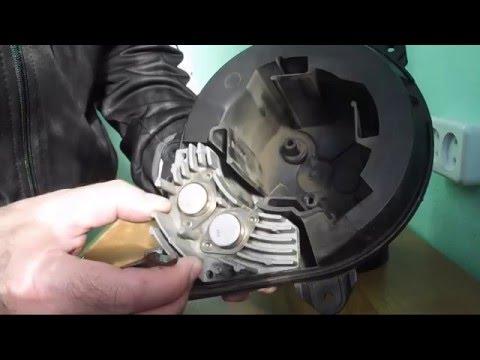 Замена транзисторов в блоке управления вентилятором салона Ситроен Ксара