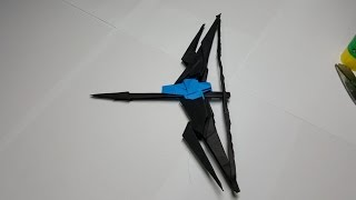 getlinkyoutube.com-PAPER BUILD Origami Video [페이퍼빌드 ] 종이로 활 만드는 방법 영상 종이접기