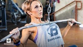 getlinkyoutube.com-Jessie Hilgenberg's Strong Back Workout