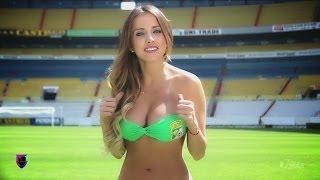 getlinkyoutube.com-Sexy Contacto Deportivo entre las chicas del Pachuca y León