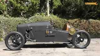 getlinkyoutube.com-Demarcay von 1922 mit Anzani Motor 1000 ccm Rennwagen Racing Car Cyclecar