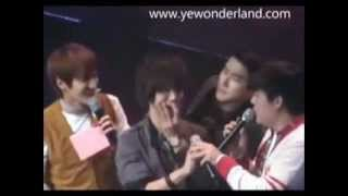 getlinkyoutube.com-Yewon Moments (Yesung & Siwon) - Our Love Will Never End