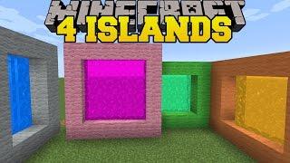 getlinkyoutube.com-Minecraft: 4 ISLANDS! - THE 8 ISLANDS - Custom Map