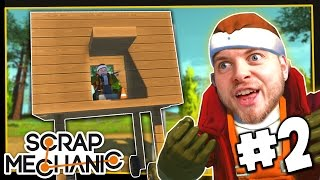 getlinkyoutube.com-Scrap Mechanic! - MY MOVING HOUSE! - [#2] | Gameplay |