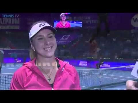 Belinda Bencic On Making Top 10 Debut