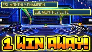 "getlinkyoutube.com-ONE WIN AWAY FROM ""ESL MONTHLY FINALS"" IN ROCKET LEAGUE!?"