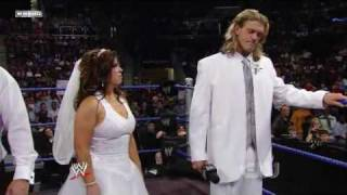 getlinkyoutube.com-Triple H Ruins Vickie/Edge Wedding (2/2)