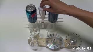 getlinkyoutube.com-Toepler-Holtz electrostatic generator replica