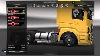 getlinkyoutube.com-ETS 2 Volkswagen Truck + Tunning Pack [1.19.x]