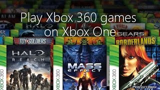 getlinkyoutube.com-How to Download your Xbox 360 games onto your Xbox One