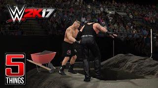 WWE 2K17: 5 Special Match Types To Return! #WWE2K17