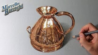getlinkyoutube.com-How to draw a copper jug