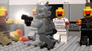 getlinkyoutube.com-Lego zombie hunters - Lego zombie movie