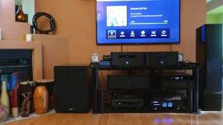 getlinkyoutube.com-Martin  Logan Motion 60XT  Tower Speakers, Yamaha A3040 Receiver