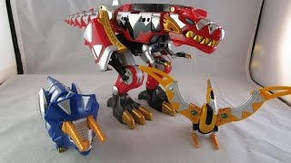 getlinkyoutube.com-Retro Review: Thundersaurus Megazord (Power Rangers Dino Thunder)