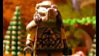 getlinkyoutube.com-Lego Alien versus Predator
