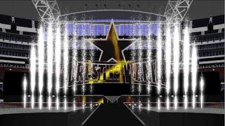 WWE WrestleMania 32 Brock Lesnar Entrance Stage Animation + Pyro