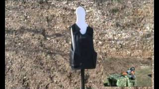 getlinkyoutube.com-Bullet-proof Vest Vs. 7.62 Drugenov Sniper Rifle