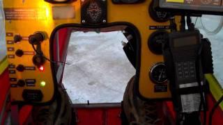 getlinkyoutube.com-CGS Hawk Snow Flight, Jan 30th, 18 degrees out