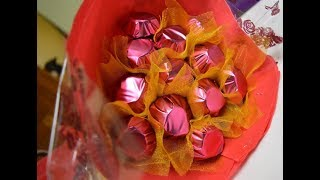 How to make a chocolate bouquet at home...