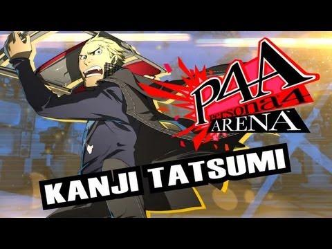 Persona 4 Arena Move Video: Kanji Tatsumi