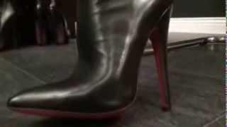 getlinkyoutube.com-leather fantasy #1 (part 1) - fetish diva nadja