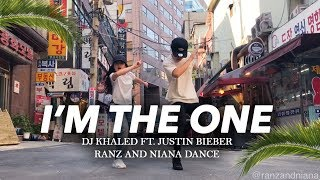 I'M THE ONE - DJ Khaled ft Justin Bieber Dance | Ranz and Niana