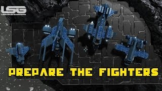 getlinkyoutube.com-Space Engineers - Prepare The Fighters But What Fighters ? Part 27