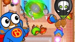 Bloons TD Battles - SUPER MONKEYS EVERYWHERE! - Bloons TD Battles Strategy Megaboosts
