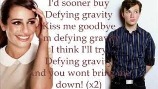 getlinkyoutube.com-Defying Gravity Glee Lyrics