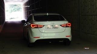 getlinkyoutube.com-2014 Hyundai Elantra ( Avante) Test Drive ( 1.6 Liter Diesel)