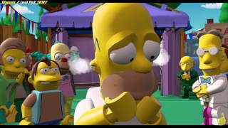 getlinkyoutube.com-Lego Dimensions: Simpsons Level Pack STORY/In your face, space coyote! Trophy/Achievement - HTG