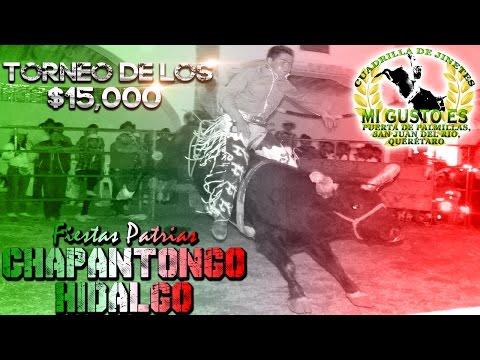 Torneo De Toros De Reparo En Chapantongo, Hidalgo 2014