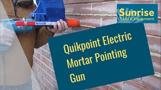 getlinkyoutube.com-Quikpoint Electric Mortar Pointing Gun