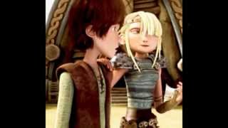 getlinkyoutube.com-Astrid And Hiccup - Two Worlds Collide
