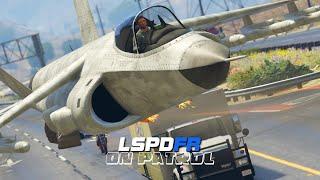 getlinkyoutube.com-LSPDFR - On Patrol - Day 2 - Fighter Jet Patrol