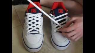 getlinkyoutube.com-How To DIAMOND Lace Shoes and with No Bow