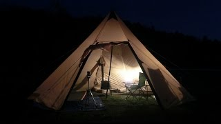getlinkyoutube.com-今宵も家出して薪ストーブキャンプ  ~Tonight and also ran away from home firewood stove camp~